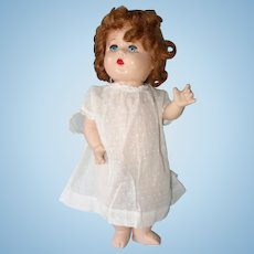 Dee An Cee Composition Toddler Doll, Red Hair, Canada