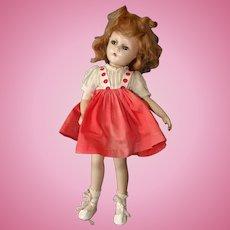 Alexander Wendy Ann Composition Doll, Swivel Waist, Tagged Dress