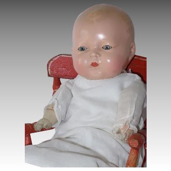 Composition Madame Hendren Baby Doll, 12 Inch