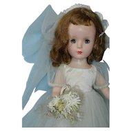 Margaret Bride, HP Alexander 1950s 14 Inch Doll in Gown