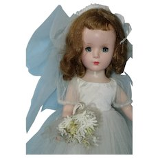 Margaret Bride, HP Alexander 1950s 14 Inch Doll in Gown