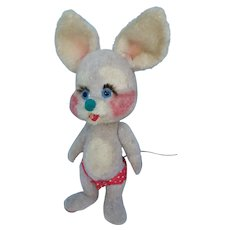 Mouse, Yes/No Plush 13 Inch German or Italian Character Toy