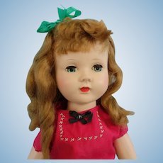 Honey Walker, Effanbee Hard Plastic 18 Inch Redhead Doll