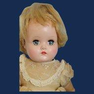 Alexander  Baby Doll, 15 Inch Hard Plastic, Cloth + Vinyl, 1952 Approx.