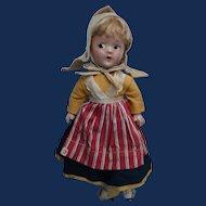 Little Betty, Alexander Composition 9 Inch 1930s Doll, Dutch