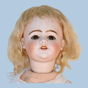 SFBJ. French Bisque Doll, Kissing, Walking, Flirting 22 Inch