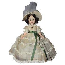 Southern Belle, 9 Inch Alexander Cissette Portrette Doll 1968-70