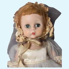 "Wendy-kins Bride, Alexander 1950s 8"" Doll BKW"
