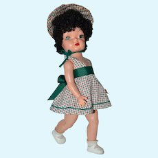 "Mary Jane, Freydberg HP 17"" 1953 Terri Lee Knockoff Doll Brunette"