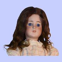 Simon + Halbig 550 German Bisque Doll,  Gimbels, 22 Inch