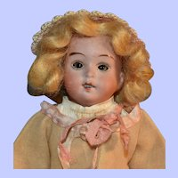 Walther & Sohn 8 Inch Bisque Head German Doll