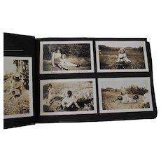 Photograph Album, 1930s Vernacular Snapshots, Children + Toys