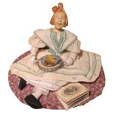 Wonderful Doll Artist Sculpture by Lulu Kriger 1953