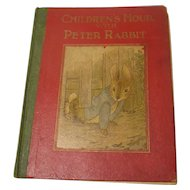 Beatrix Potter Children's Hour With Peter Rabbit Unauthorized 1st Edition Platt & Munk Co., Inc