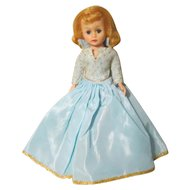 Madame Alexander Cissette Doll Walt Disney Sleeping Beauty Late 60's-70's Tagged Dress