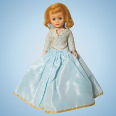 Madame Alexander Cissette Doll Walt Disney Sleeping Beauty Late 60's-70's Tagged Dress