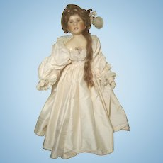 "Linda Murray (John) Doll Maker Artist Cloth Doll 1997 31""  Angelique  United Kingdom"