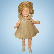 1930's Shirley Temple Tagged Organdy Dress From Curly Top or Baby Takes a Bow