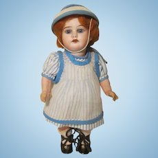 "Cabinet Size 9"" Armand Marseille 1894 Bisque Head Doll"