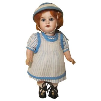 """Cabinet Size 9"""" Armand Marseille 1894 Bisque Head Doll"""