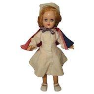 "Ideal Miss Curity / Toni Doll P-90 1950's Hard Plastic 14"""