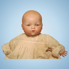 "Armand Marseille Dream Baby Doll  15"" Bisque Head Celluloid Hands German"