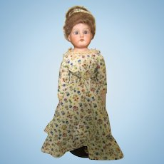 Armand Marseille 370 Cabinet Size Bisque Shoulder Head Doll German