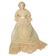 Antique C F Kling China Shoulder Head Doll German