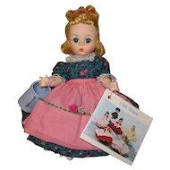 "Madame Alexander Mary Mary Alexanderkins Straight Leg 8"" Doll W / Box"