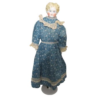 German Blonde Shoulder head, arms and legs China Doll