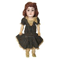 J D Kestner F 10 Bisque German Doll Ball Jointed 20""