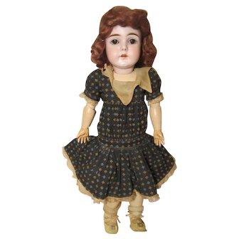 """J D Kestner F 10 Bisque German Doll Ball Jointed 20"""""""