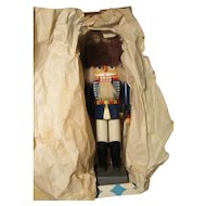 Vintage Erzgebirge Expertic German Nutcracker Guard W / Box 10""