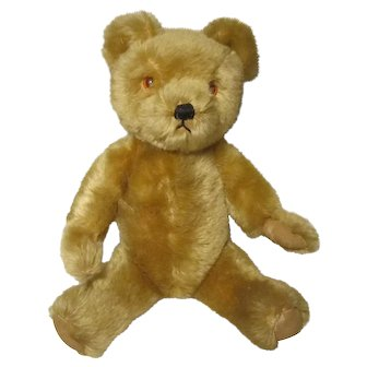 """Vintage Steiff Mohair Bear 12"""" Without Button"""