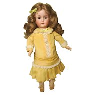 """William Goebel 120 Bisque Socket Head Doll Ball Jointed Body 15"""""""