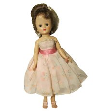 1957 Vogue Jill Doll Hard Plastic Bent Knee Walker