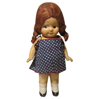 All Composition Frozen Chunky Body Carnival Doll Side-Glancing Eyes Zaiden?