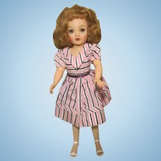 "Ideal Miss Revlon Doll 18"" 1950's Needs Some TLC"