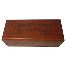Vintage Art-Craft Custom Mad Estate Pipe Box Only