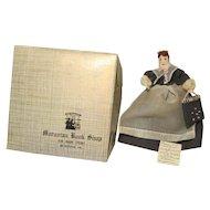 "1930's Moravian Benigna  Doll Bethlehem PA  5 1/2""  With Box"