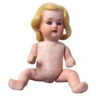 """Herman Steiner 6"""" Bisque Socket Head Doll"""