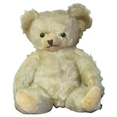 Blonde Mohair Teddy Bear 13""
