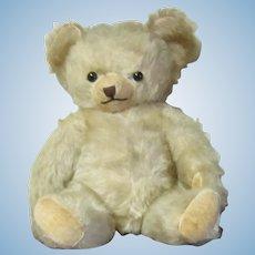 """Blonde Mohair Teddy Bear 13"""""""