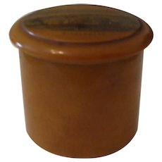 A Fine 19th Century Mauchline Thread Container