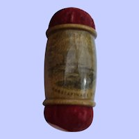 A Delightful 19th Century Mauchline Pincushion with Historical Interest
