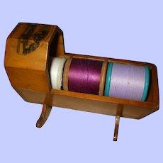 19th Century Mauchline Thread Cradle