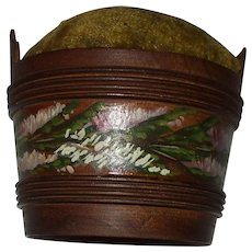 Attractive 19th Century Spa Work Pin Cushion