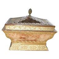 A Rare Find.  A Superb Regency Work Box Circa 1830