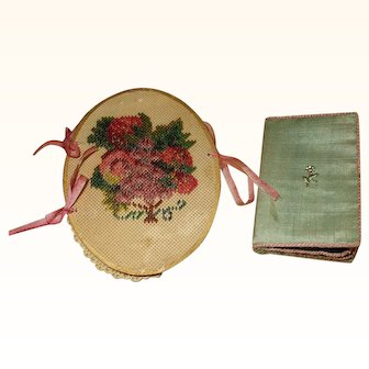 Two Attractive Victorian and Regency Needle Cases