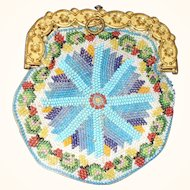 Delightful Micro Beadwork Purse C1840